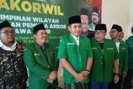 GP Ansor Jatim turunkan personel ajak masyarakat sukseskan pemilu