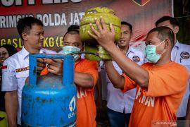 Polisi periksa empat saksi pengoplosan elpiji  subsidi