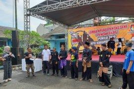 Padepokan silat ramaikan sosialisasi pemilu di Serang
