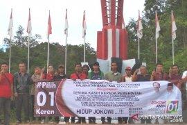 Warga perbatasan Bengkayang dukung Jokowi - Ma'ruf