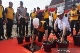 Pembangunan Masjid Polda Riau dimulai