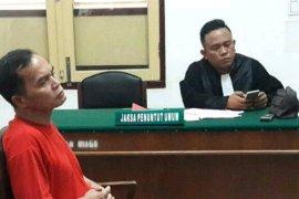 Oknum guru cabuli keponakan dihukum tujuh tahun penjara