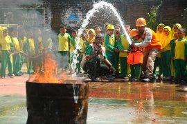 BPBD Penajam latih pelajar antisipasi bencana