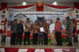 Sanggau serahkan dukungan tertulis pembentukan Kapuas Raya