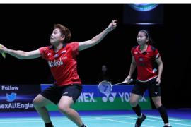 Denmark Open 2019 - Greysia/Apriyani dihentikan Chang/Kim di babak dua