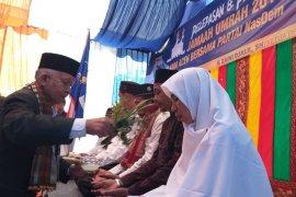 Partai Nasdem berangkatkan umrah 93 ulama Aceh
