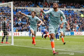 Chelsea bangkit lagi kalahkan Cardiff walau posisi tetap ke-6