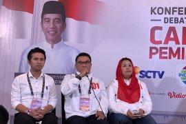 Moeldoko: Jokowi sampaikan strategi, bukan retorika debat