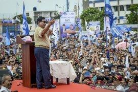 Rapat akbar Prabowo - Sandi di Bandung
