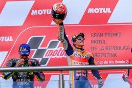 Marc Marquez juarai GP Argentina, ambil alih pimpinan klasemen MotoGP