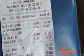 """Alfamart luruskan """"hoaks"""" potong langsung donasi Rp10.000 di Cimalati"""