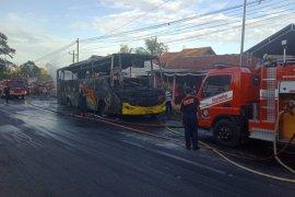Penyebab kebakaran bus di tanjakan Krumput Banyumas diselidiki