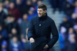 Steven Gerrard hilang kesabaran terhadap strikernya Alfredo Morelos