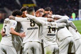 Hasil dan klasemen Liga Prancis, dua kemenangan lagi PSG juara