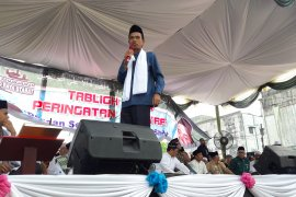 Ribuan umat Islam hadiri ceramah Ustadz Abdul Somad di Langkat