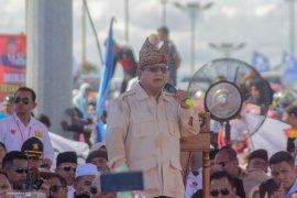 Prabowo: Niat saya maju untuk selamatkan kekayaan negara