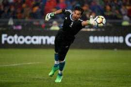 Buffon jadi pahlawan kemenangan Juve lawan Inter Milan