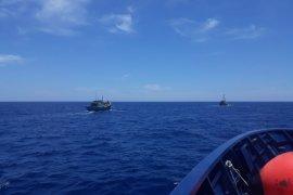 Dua kapal perikanan ilegal asal Vietnam ditangkap