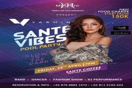DJ Yasmin siap getarkan Sante Pool Side Mercure
