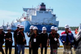 Kapal kargo pertama LNG Hub Pertamina Perta Arun Gas