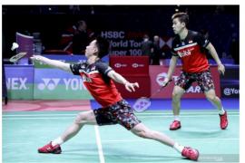 Kalahkan pasangan Jepang, Minions lolos ke final