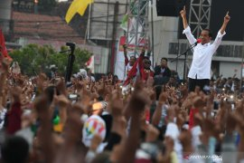 Presiden Jokowi sampaikan salam kepada masyarakat Labuhanbatu
