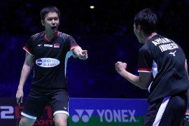 Hendra-Ahsan maju ke perempat final  Singapore Open