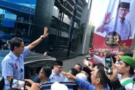 Sandiaga janji tingkatkan ekonomi Indonesia 6,5 persen tahun pertama kepemimpinan