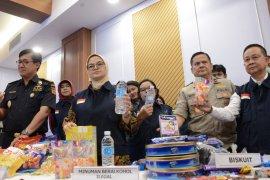 BPOM Tangerang mengamankan produk  bebek olahan