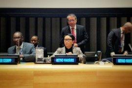 Menlu Retno Marsudi tegaskan Indonesia selalu bersama Palestina