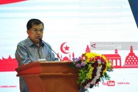 Wapres Jusuf Kalla sebutkan tiga kunci utama memajukan Indonesia