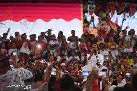 Jokowi janji kembali ke Asahan bila dapat suara tinggi