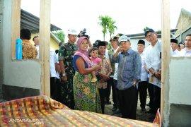 Wapres Tinjau  Rekonstruksi Pascabencana Lombok