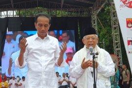 Ini doa Ma'ruf Amin saat karnaval Indonesia Bersatu