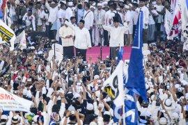 Capres Prabowo optimis menang di Pilpres