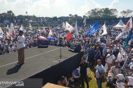 Di Sukabumi  peserta kampanye meninggal akibat kelelahan