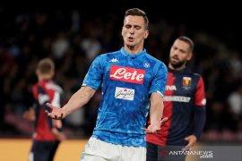 Napoli gagal taklukkan 10 pemain Genoa