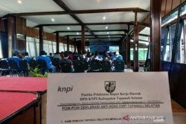 Jelang pemilu KNPI deklarasi anti hoaks