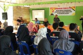 115 pengawas TPS kecamatan ikuti bintek pemilu