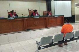 Caleg Gerindra pemakai sabu dituntut 6 bulan penjara
