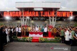 Presiden berharap Bandara Tjilik Riwut jadi motor pertumbuhan ekonomi