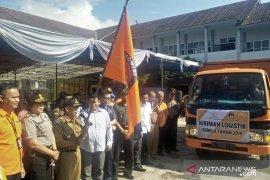 KPU Cianjur distribusikan logistik pemilu