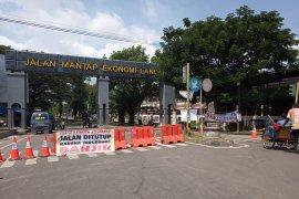 Polisi tutup jalur Jatibarang-Indramayu akibat banjir