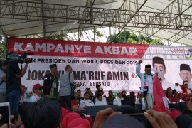 KH Ma'ruf Amin hadiri kampanye terbuka di Bandung Barat
