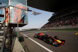 GP China jadi balapan Formula Satu yang ke-1.000