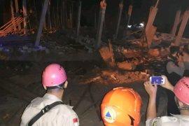 Satu orang terluka akibat ruko roboh di Medan