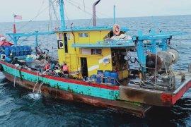 Enam kapal penangkap ikan asing ilegal ditangkap petugas KKP