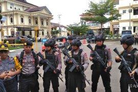 Perwira pengendali dan pejabat utama Polda Jambi disebar
