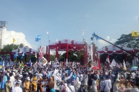 Prabowo tidak dapat izin kampanye di Semarang