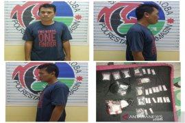 Polresta Banjarmasin ringkus pengedar 23 paket sabu-sabu